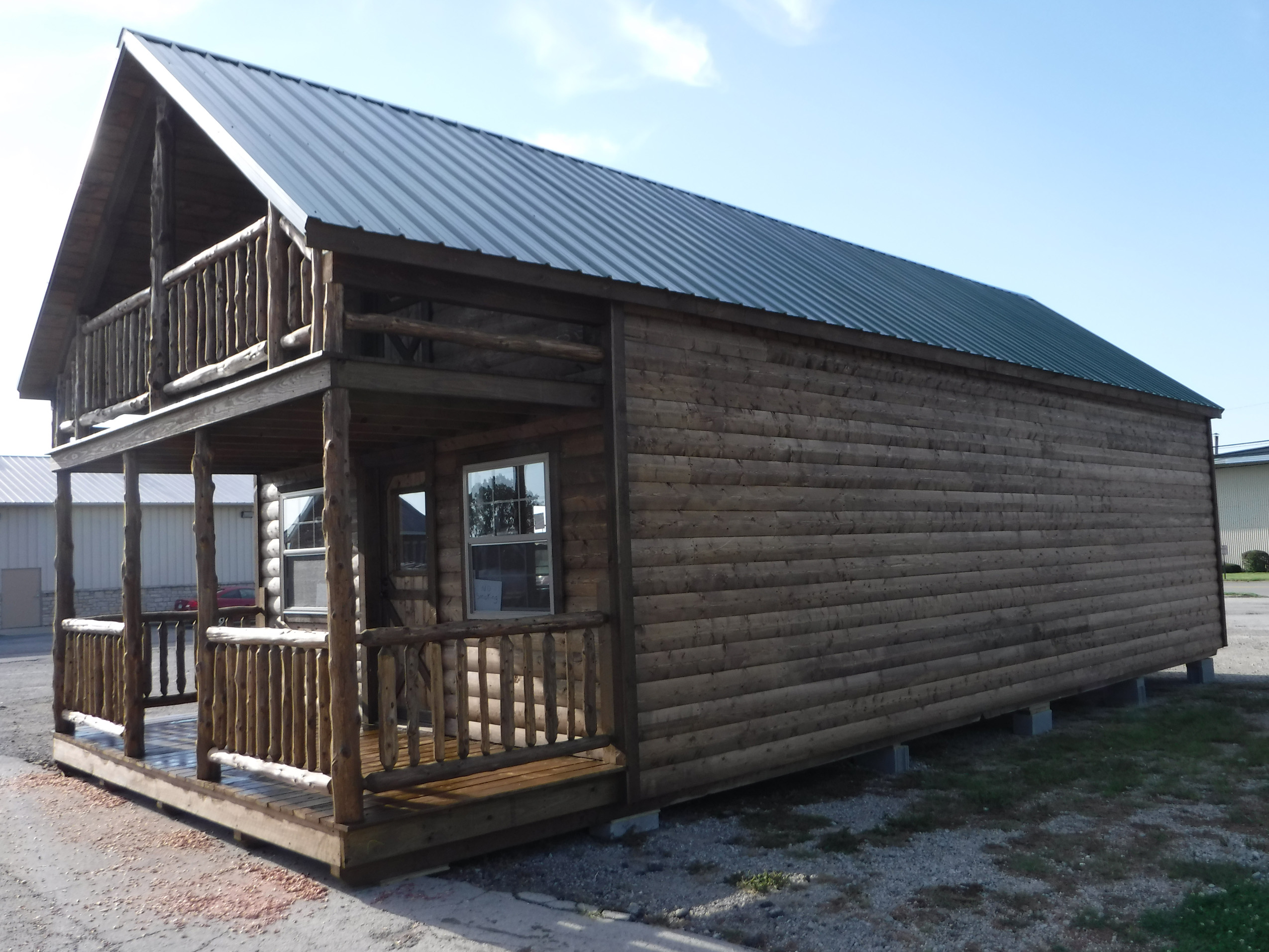Cabin front
