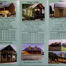 Schwartz Cabin pricing inside