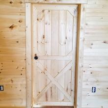 Cabin Door to the Outside